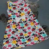 Летнее платье Минни Маус 6-7 лет
