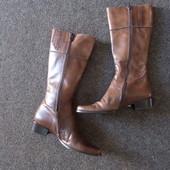 Кожаные Сапоги IL Masiero-размер 38,длина стельки-24,5-25 см