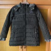 Деми пальто новое р. 122-128