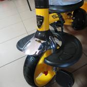 Подставка подножка для детского трехколесного велосипеда