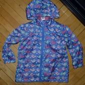 Очень классное фирменное пальто ветровка девочке 3 года