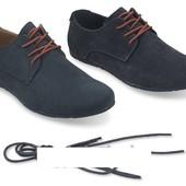 Мужские ботинки Kirby  Код: gr445v - чорні, Код: gr446 - сині