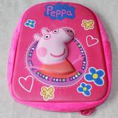 Рюкзак Пеппа 3D. Peppa pig