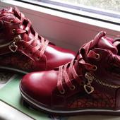 Ботинки демисезон Eebb на девочку, 30 (19 см)