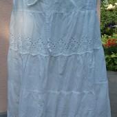 Шикарная белая юбка для беременных