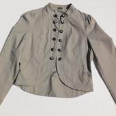 George. Хлопковая куртка с пуговицами и на крючёчках.