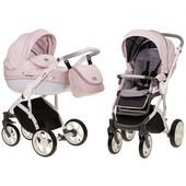 Универсальная коляска 2 в 1 Mioobaby Zoom Pink/white/grey