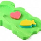 матрасик для купания малыша, поролоновый