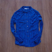 Стиляжная яркая блуза Next, размер 12, состояние новой вещи.