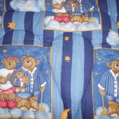 Детское стеганое одеяло ,100% шерсть в отличном состоянии