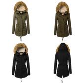 Супер стильная женская зимняя куртка парка