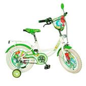 Велосипед Фиксики 12 с белыми колесами двухколесный детский