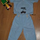 Практичный, модный  костюм на мальчика (р. 92 см)