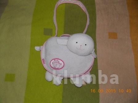Фирменная сумочка beby anabell(zapf creation)-оригинальная сумка фото №1