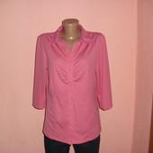 блуза коралловая р-р Л,цвет темнее.сост новой