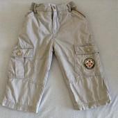 Стильные теплые штанишки на мальчика 86-92 см