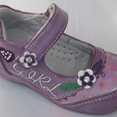 Туфельки для девочки, 21 и 22 размер. Замеры - в описании!