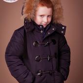 Акция Зимняя куртки, пальто на мальчика и девочку baby angel р 122 146