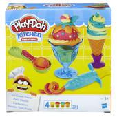 Плей До набор пластилина Инструменты мороженщика Play Doh (B1857) hasbro плей-дох