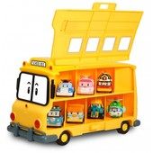 Robocar Poli кейс-гараж автобус Скулби