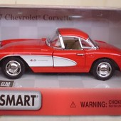 Машина металлическая Kinsmart Kt 5316 1957 Chevrolet Corvetle