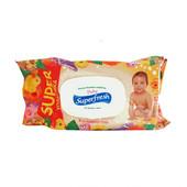 Детские влажные салфетки Baby Superfresh 120 шт с клапаном! Днепропетровск