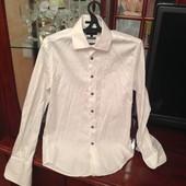 Мужская рубашка под запонки S