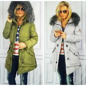 Куртка парка пуховик женский зимний