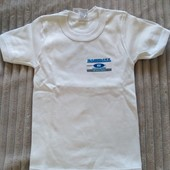 Новая футболка на баечке , 100% хлопок,произ-во Италии