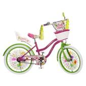 Велосипед Профи Фея 20 дюймов Profi Fairy двухколесный детский 2066G