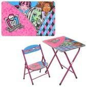 Детский столик со стульчиком dt 19 mh Монстер Хай