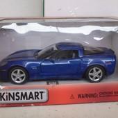 Машина металлическая Kinsmart kt 5320  Chevrolet Corvette z 06