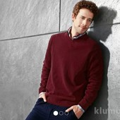 Мужской свитер пуловер Тсм Германия шерсть М