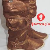 Гламурные сапоги фирма Garvalin (Гарвалин), размер 31. по стельке-20 см