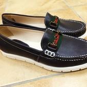 Туфли лоферы в стиле Gucci. Новинка!!!