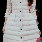 Нежная розовая удлиненная курточка, новая