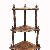 Индийская мебель из красного дерева