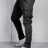 Стильные спортивные штаны с карманами карго. Украина