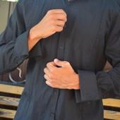 Стильная рубашка на запонках River Island slim fit