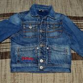 Куртка джинсовая р.3