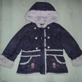 Фирменная куртка на искусственном меху на 1,5-2 года и старше.