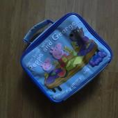 Термо сумка для вкусных обедов с Пеппой