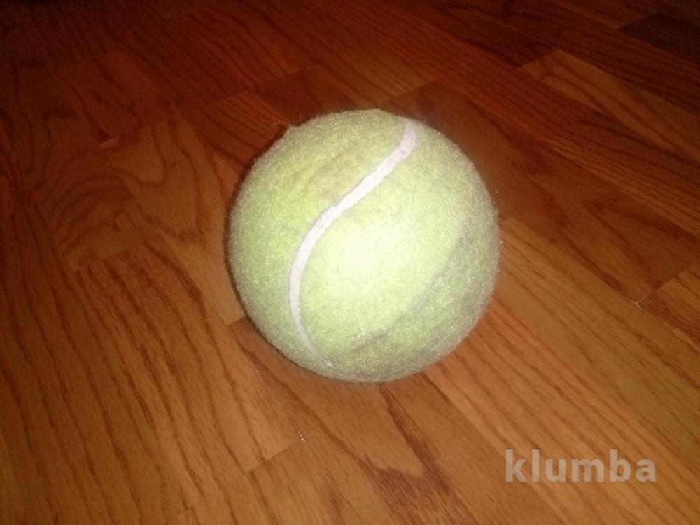 Большой теннисный мяч фото №1