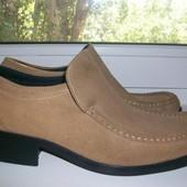 Туфли мужские Burton натуральная замша р. 42