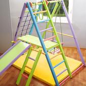 Кроша - цветной деревянный уголок для деток