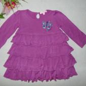 Платье Butterfly на 9-12 мес,рост 74-80 см.Мега выбор обуви и одежды!