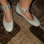 кожаные туфли 39