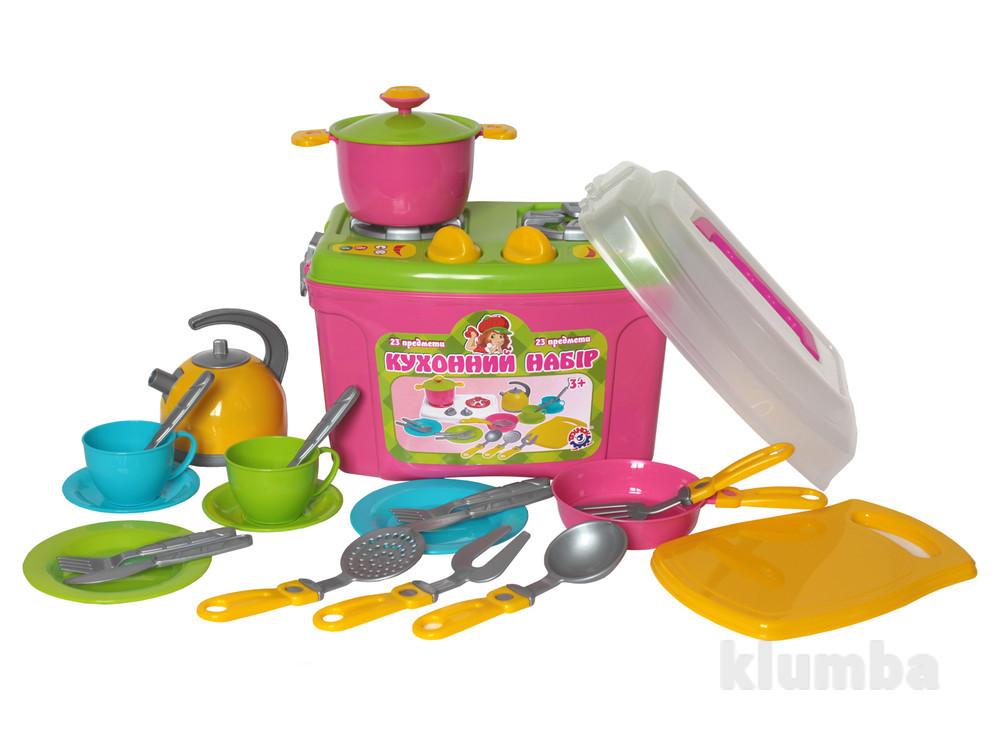 Кухня Кухонный набор 8 23 предмета Технок 2407 чемоданчик фото №1