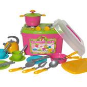Кухня Кухонный набор 8 23 предмета Технок 2407 чемоданчик
