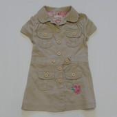 Джинсовый сарафан Little by little для девочки, размер 2-3 года, состояние отличное.